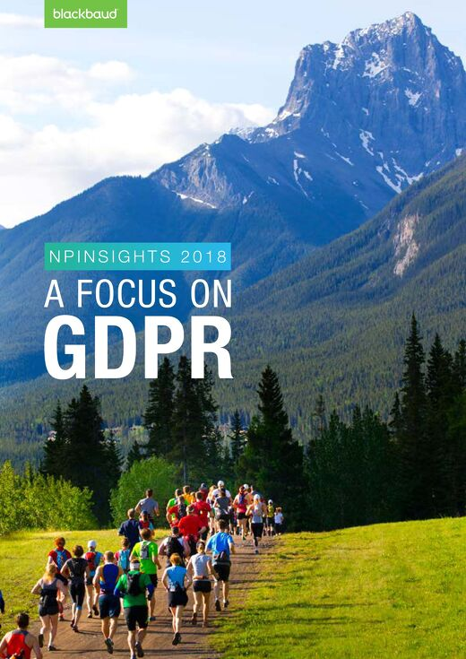 Non-profit Insights: A Focus on GDPR
