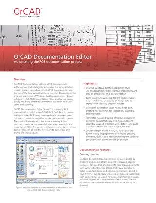 OrCAD Doc Editor