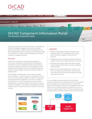 OrCAD Information Portal
