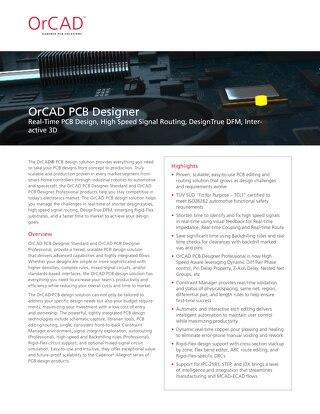 OrCAD PCB Designer
