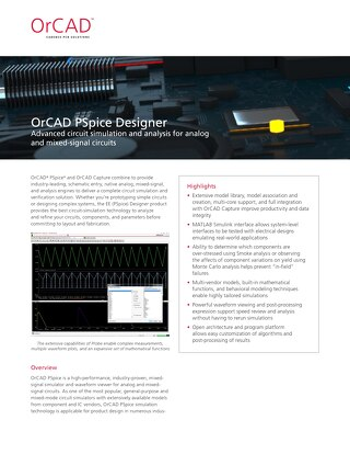 OrCAD PSpice Designer
