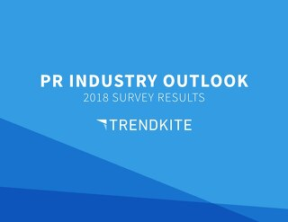 See the statistics transforming the PR industry