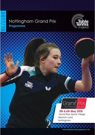 Nottingham Grand Prix 2017-18
