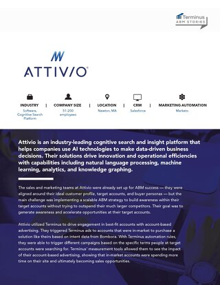 [ABM Case Study] How Attivio Uses Terminus + Bombora