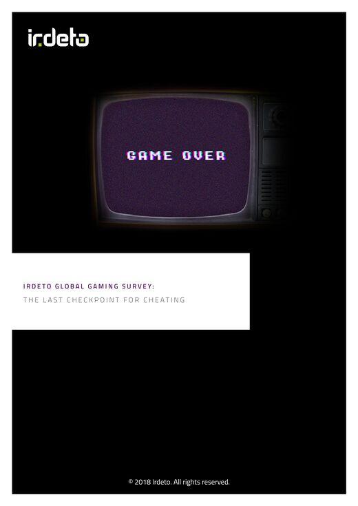 Irdeto Global Gaming Survey Report