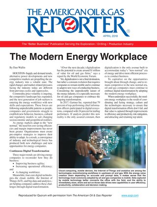 Modern Energy Workplace