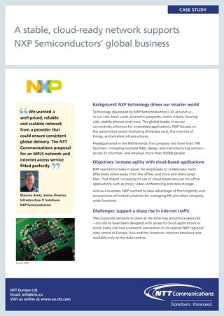 NXP Semiconductors Case Study