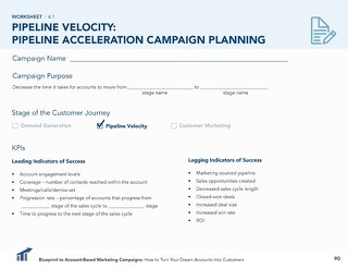 [Worksheet] Pipeline Acceleration ABM Campaign