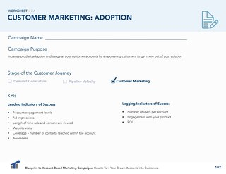 [Worksheet] Increase Customer Adoption with ABM