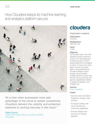 Cloudera Customer Story