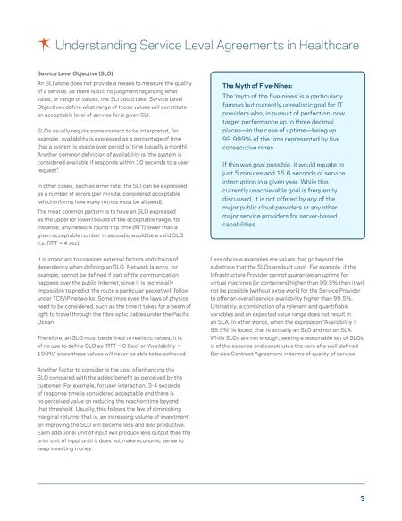 Us White Papers Understanding Service Level Agreements In Healthcare