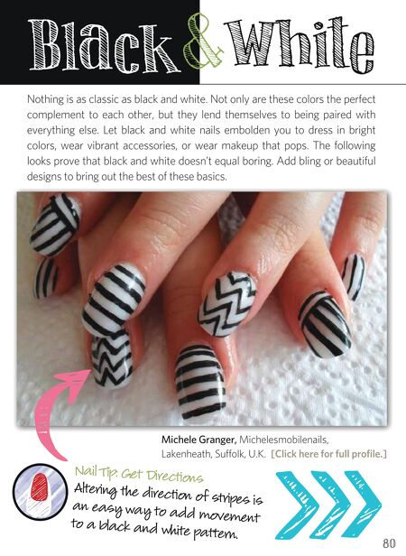 Nail Art Gallery Magazine Dec 2012