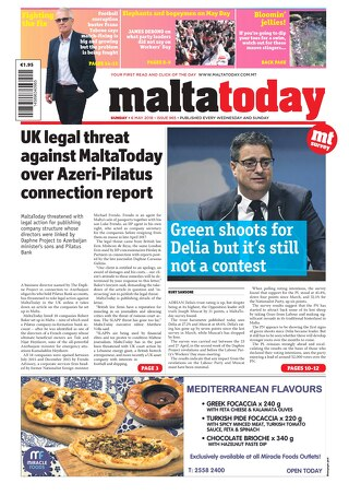 MALTATODAY 6 MAY 2018
