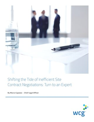 Shifting the Tide of Inefficient Site Contract Negotiations: Turn to an Expert