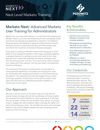 Marketo Next Training