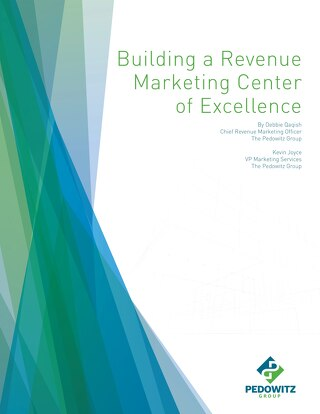 Building a Revenue Marketing Center of Excellence