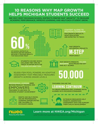 Michigan Overview Infographic