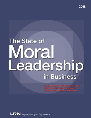 2018 The State of Moral Leadership in Business