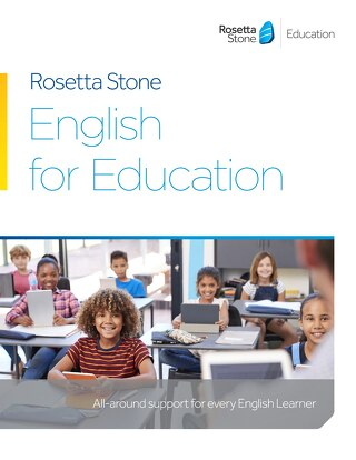 Rosetta Stone English for Education Brochure