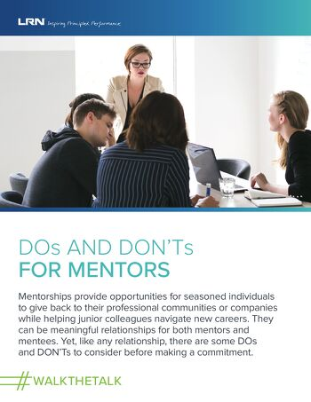 Sexual Harassment Prevention: DOs & DON'Ts for Mentors