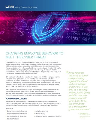 Combatting Cyber Threat