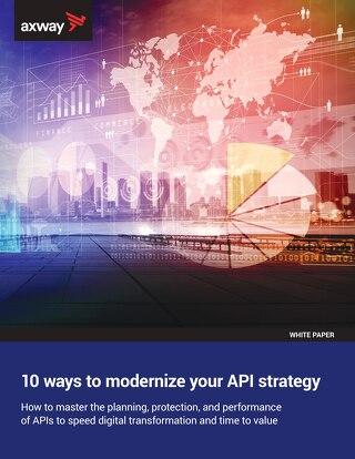 10 Ways to Modernize Your API Strategy