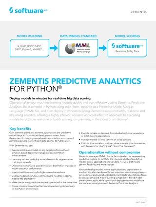 Zementis for Python®