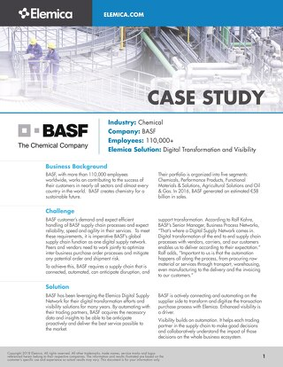 Elemica Case Study: BASF
