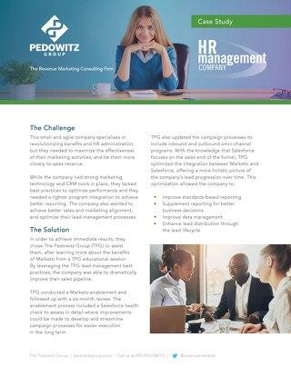 Case Study: Human Resources Management Company Marketing Performance Optimization