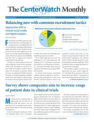 Balancing New with Common Recruitment Tactics