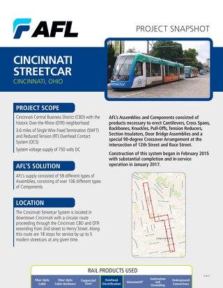 Cincinnati Streetcar Project Snapshot