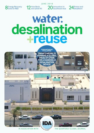 water desalination & reuse June 2018