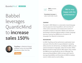 Babbel Uses Deep Funnel Data to Increase Sales [Case Study]