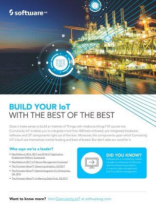Build your IoT on the best of the best