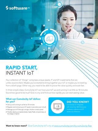 Rapid start, instant IoT