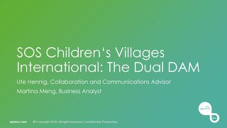 SOS Children's Villages International: The Duel DAM – Ute Hennig & Martina Meng [Aprimo Sync! London]