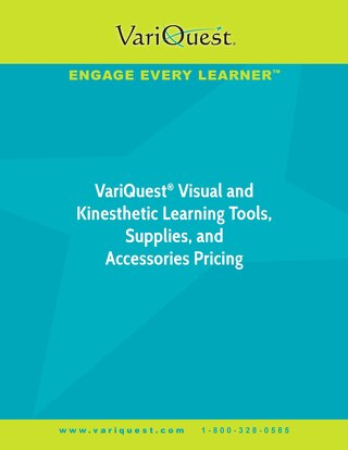 VariQuest Pricing Brochure 2018