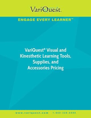 VariQuest Pricing Brochure 2018