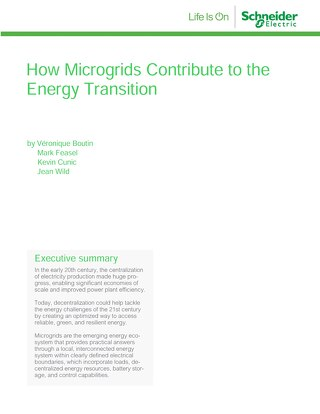 Microgrids & the Energy Transition [Whitepaper]
