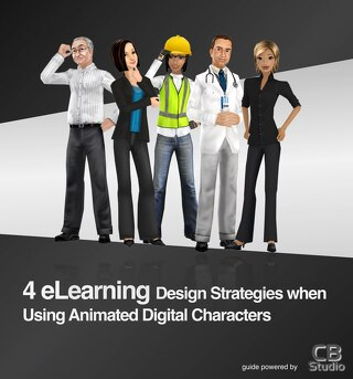 4 eLearning Design Strategies when Using Animated Digital Characters