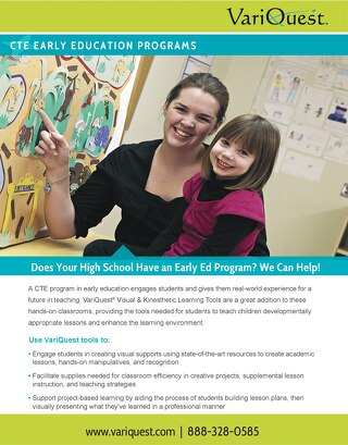VariQuest Early Ed High School CTE Program Flyer