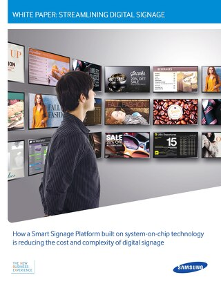 Streamlining Digital Signage