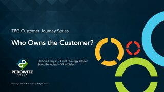 Webinar Slides: Who Owns the Customer Journey?