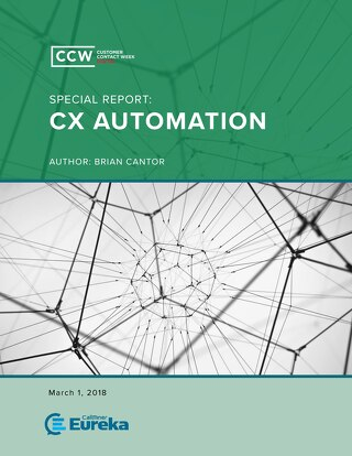 CCW Special Report: CX Automation
