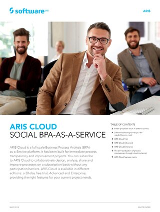 Discover ARIS Cloud: Social BPA-as-a-Service