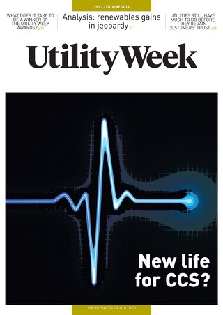 Utility Week 1st June 2018