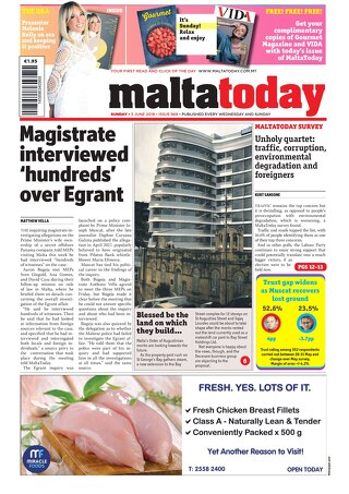 MALTATODAY 3 JUNE 2018