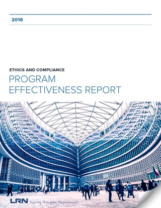 2016 E&C Program Effectiveness Report