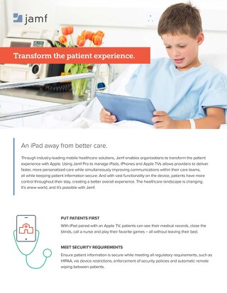 Jamf: Transform the Patient Experience