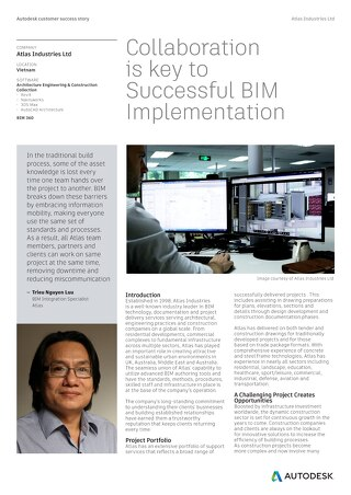 Atlas Wins with BIM Collaboration